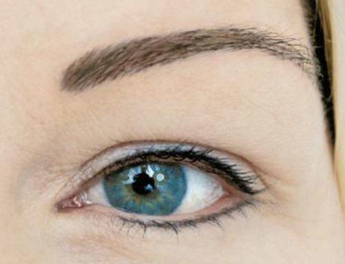 Augenbrauen Härchentechnik